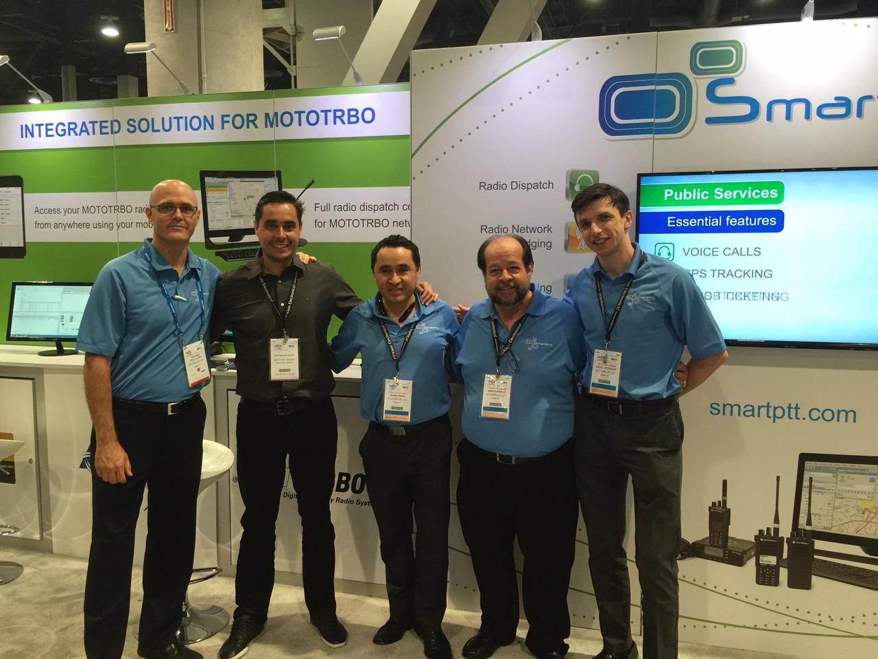 Grupo CDC Telecom e SmartPTT juntos na IWCE Expo Las Vegas 2015