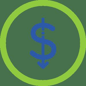 Ícone - Baixo investimento inicial