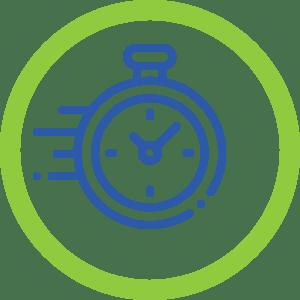Ícone - Facilidade e rapidez na contratação